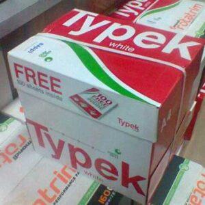 Typek Paper In Thailand